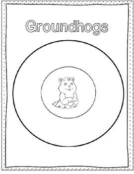 February Graphic Organizers (President's, Valentine's, Groundhog's Day)