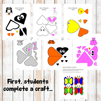 February Graphing Activities (Valentine's Day) - Creative Learning!