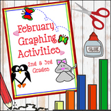February Graphing Activities (Valentine's Day) - Creative