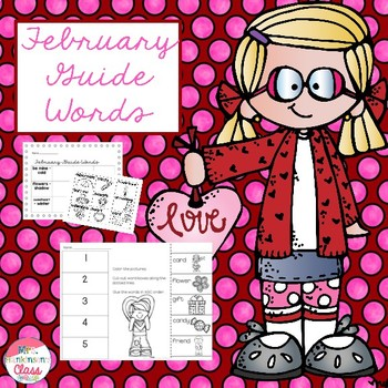 February Guide Words
