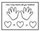 February Handfuls of Conversation Hearts Math Activities