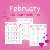 February Heart 120 Chart Activities
