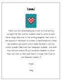 February Heart Art & Writing