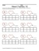 February Heart Frames: 10 (Math)