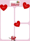 February Hearts Newsletter Template