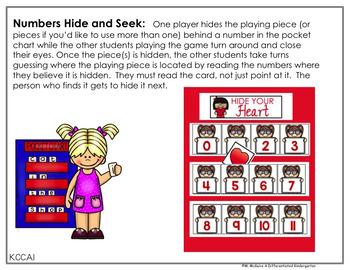 February Hide and Seek - Numbers Edition