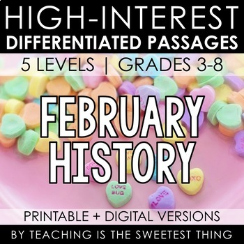 February Passages: History