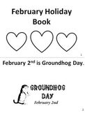 February Holiday Book with Activities