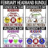 February Holiday Headband Bundle