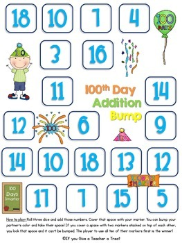 100th Day, Valentine's Day and Presidents Day:February Holidays Activity Pack