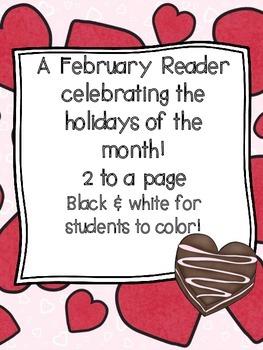 February Holidays Emergent Reader