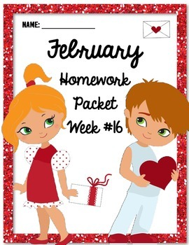 Homework Packet 16