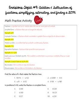 Homework Packet 17