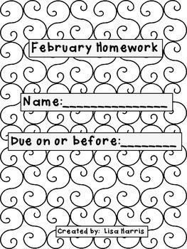 February Homework Packet