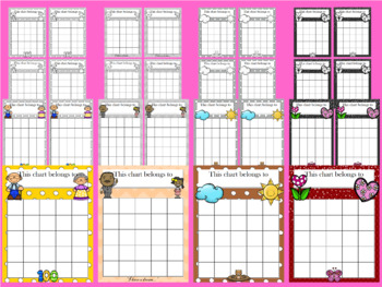 February Incentive Chart BUNDLE