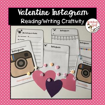 Valentine's Day Instagram Craftivity