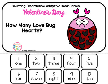 February Interactive Adaptive Math Book Set