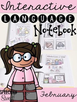 February Interactive Language Notebook