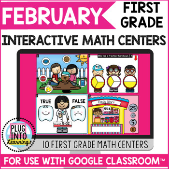 February Interactive Math Centers