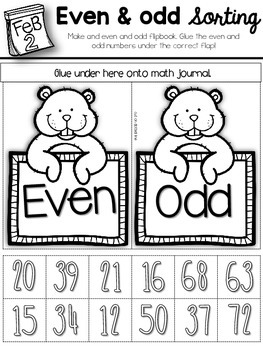 February Interactive Math Journal