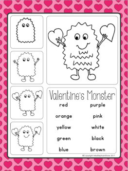 February Poems and Directed Drawings Valentine's Kindergarten Grade 1