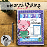 Kindergarten / Grade 1 Writing Prompts and Poems (February)