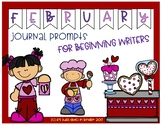 February Journal Prompts for Beginning Writers