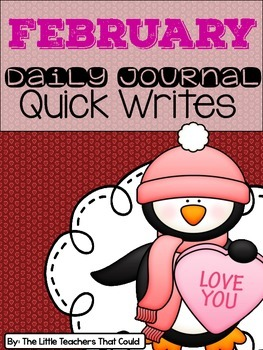 February Journal Quick Writes