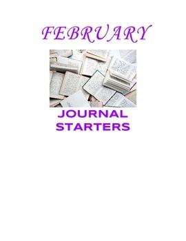February Journal Starters