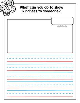 February Journal and Prompts {Kindergarten}