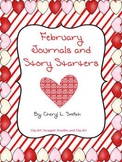 February Journals and Writing Prompts