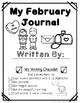 February Journals for Primary Students