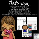February Journals with Visual and Written Prompts