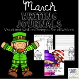 March Journals with Visual and Written Prompts