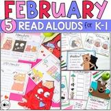 February K-1 Bundle: Interactive Read-Aloud Lesson Plans C