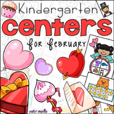February Kindergarten 20 Centers (Math and Literacy)