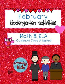 February Kindergarten Activities