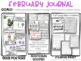 Kindergarten Writing Journal February Capitalization + Friendly Letter Templates