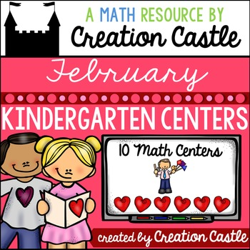 February Kindergarten Centers - Math