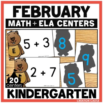 February Kindergarten Centers - Math and Literacy