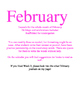 February Kindergarten Daily Writing Journals Week 2