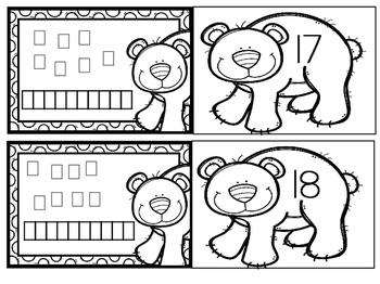 February Kindergarten Math Games