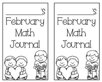 February Kindergarten Math Journal