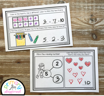February Kindergarten Math Journal