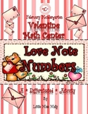 Kindergarten Valentine Math Center (Common Core Aligned)