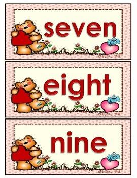 Kindergarten Valentine Math Center (Common Core Aligned)