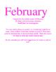 February Kindergarten Daily Writing Journals Week 1