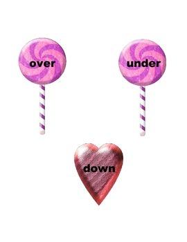Kindergarten Yummy, Yummy Candy Opposites Literacy Center Week 1 & 2