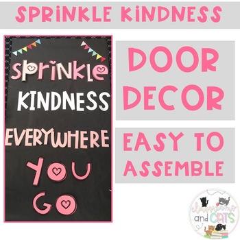 February Kindness bulletin board or door decor