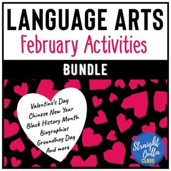 February Language Arts Activity Bundle